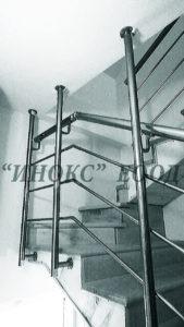 Как да монтираме парапет на тясно стълбище? 1