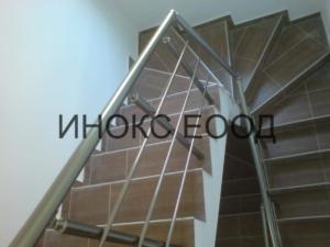 Парапет на стълбище